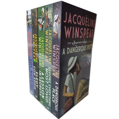 Maisie Dobbs Mysteries Collection Jacqueline Winspear 5 Books Set Pack New