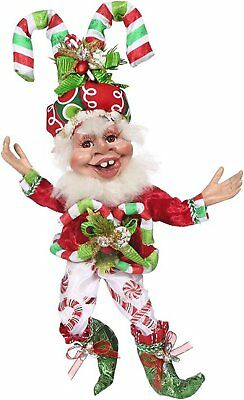 "Mark Roberts 5168206 Candy Cane Elf Sm 12"" New 2016"