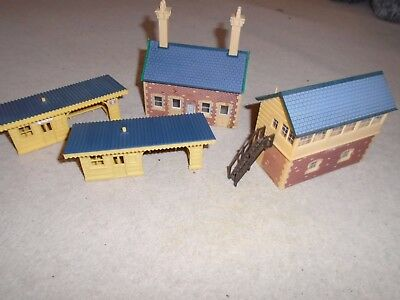 Collection of Buildings for Hornby OO Gauge Train Sets