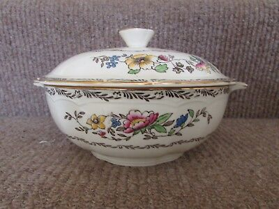 Alfred Meakin~Jerome~Tureen and Cover. Handpainted