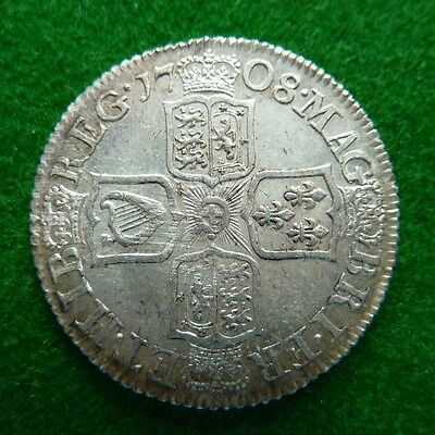 1708 Queen Anne Shilling - Ef