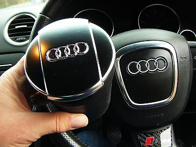 Audi A3 A4 A5 A6 A7 Q3 Q5  Cup Chrome Lid Ashtray Cup Holder 8Xo864575A+Lighter