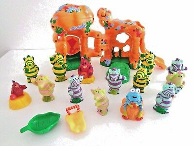 bundle job lot Fumbles toys with play house 16-piece  buy now mint condition