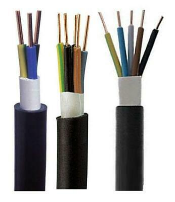 NYY-J Outdoor PVC Pond Cable 4mm 3C 4C 5C Cut To Length Hi Tuff Outdoor Wire