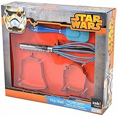 Official Star Wars Tiny Chef Kids Cookie Making 4 Piece Activity Set