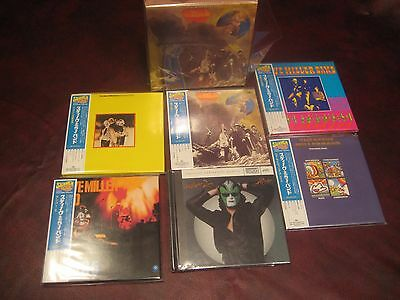 Steve Miller 5 Replicas Japan Rare Obi Cd Limited Box Set Special + Joker Xrcd