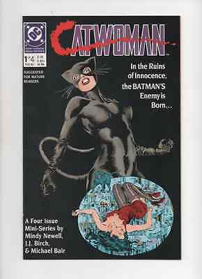 Catwoman #1,2,3,4  Complete 4 Issue Mini Series From 1989