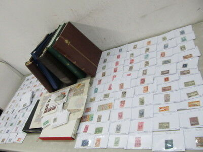 Nystamps Worldwide Thousands Mint Used Old Stamp Collection Albums in carton