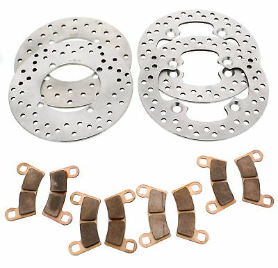 2017 Polaris RZR S 570 EPS Front and Rear Brake Rotors and Severe Duty Pads