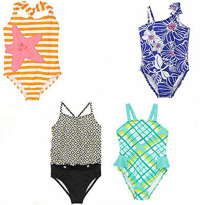 Gymboree Girl Swimsuit 1 Piece Sunscreen UPF 50+ NWT 4 5 7 8 Retail Store