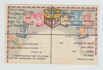 Thailand Siam Old Postcard Different Stamps Siam !!