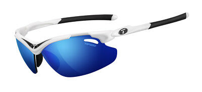 Tifosi Tyrant 2.0 Pro Sunglasses White/Black with Clarion Blue/GT/EC Lenses