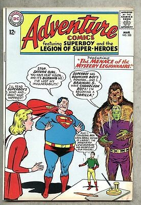 Adventure Comics #330-1965 fn- Legion of Super-Heroes / Superboy