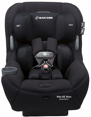 Maxi-Cosi Pria 85 Max Convertible Car Seat Child Safety Air Protect Night Black