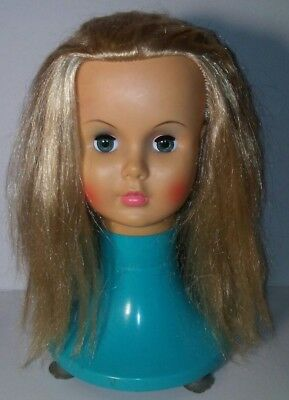 Vintage Nasco's Claudette Hairstyling Doll Mannequin Salon Styling Play Pal Head