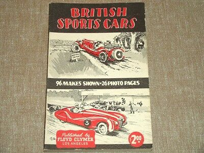 1948 BRITISH SPORTS CARS-GREGOR GRANT 96 MAKES SHOWN-26 PHOTO pgs-225 PAGES-MINT