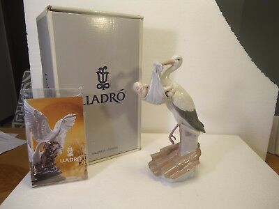 "Lladro - Special Gift, baby boy, #6228.  9 3/4"" mint in box!"