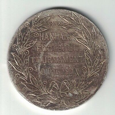 Hanhart Football Tournament Cn Atkinson Won By Nw Railway 1 Team Engraved Token
