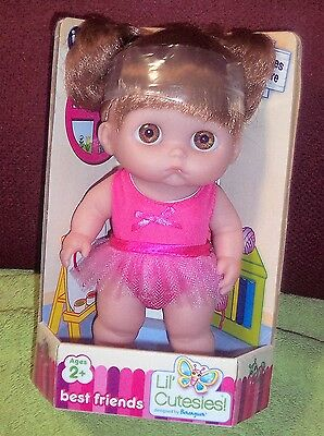 "New 2013 Berenguer ""Lil Cutesies 8.5 All Grown Ballerina Mimi"" Sucky Lip HTF"