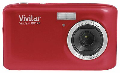 Vivitar XX128 20MP 4x Zoom Camera - Red. From the Official Argos Shop on ebay