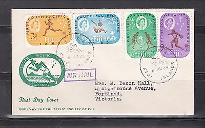 Fidschi. FDC 1963  1st South Pacific Games sport (7637)
