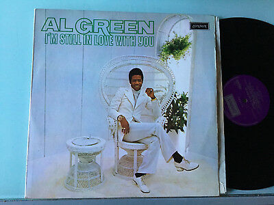 LP NM   UK 1972  Al Green ‎– I'm Still In Love With You Label: London Records ‎–