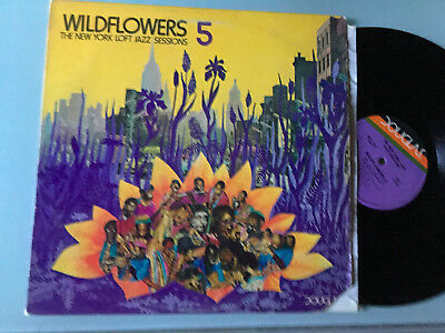 LP  Various ‎– Wildflowers 5: The New York Loft Jazz Sessions Label: Douglas ‎–