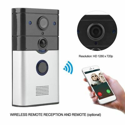 WIFI Wireless Video Doorphone Camera Motion Detection Alarm WIFI Doorbell US