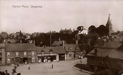 Shepshed. Market Place.