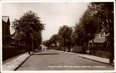 Hinckley. Mount Road & Cottage Hospital # 216669 in Campbell Series.