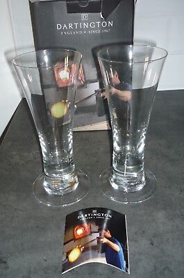 Dartington Cream of the Crop Box of Two Continental Lager Glasses