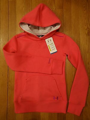 Nwt Under Armour Storm Hoodie Loose Fit Girls Youth Small Medium Large Pink