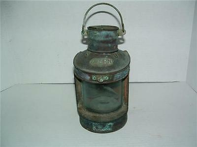 Antique Ships Lantern Stern  Nautical Light Parts Only