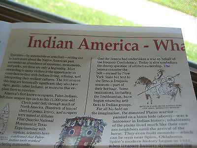 National Geographic Supplement October 1991 Indian America What You Can Visit To