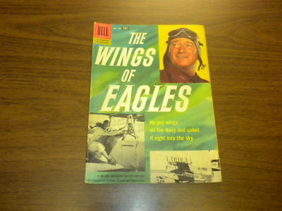 THE WINGS OF EAGLES - Dell Four Color #790 - JOHN WAYNE AIR FORCE NAVY - 1957