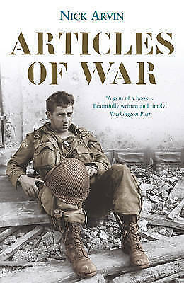 Articles Of War, Arvin, Nick, New Book