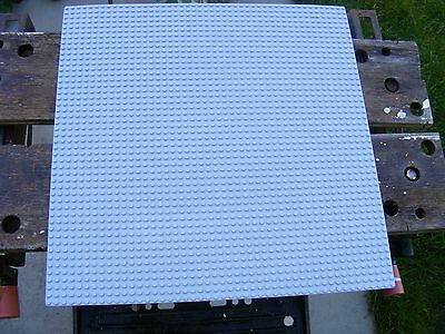 LEGO - LARGE LIGHT BLUISH GREY 48 x 48 PIN BASE BOARDS - EX CONDITION
