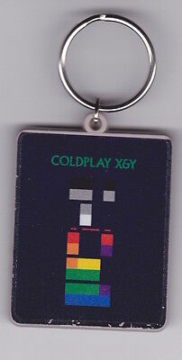 Coldplay - X&Y - Rare promo only recycled keyring