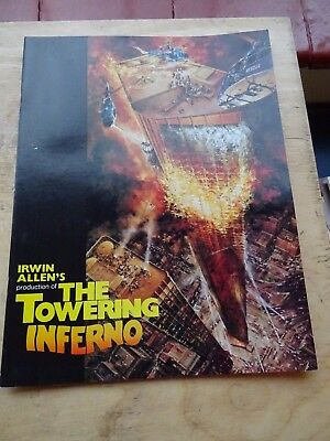 The Towering Inferno 1974 Cinema Programme