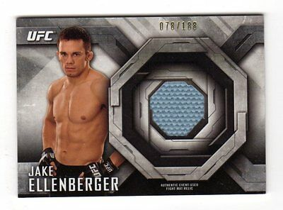 Jake Ellenberger 2014 Topps Ufc Knockout Fight Mat Relics #/188