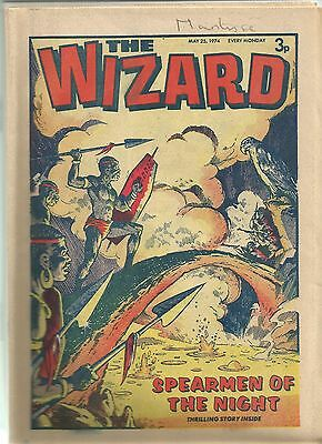 The Wizard Comic Collection from 1974 - 23 Comics in total