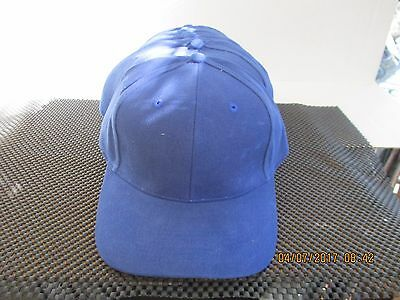 Wholesale-Lot Of 12-Solid Royal Blue Caps/hats-6 Panel-Metal Buckle-Falco[12049]