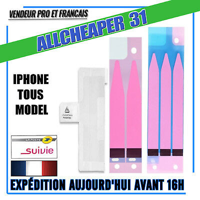 Sticker autocollant batterie iphone 7 7PLUS 6 6S 6 PLUS 6S PLUS 5 5S 5SE 5 colle