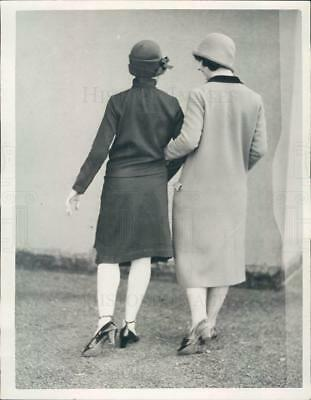 1925 Press Photo Reva Howit & Gale Martin - ner30923