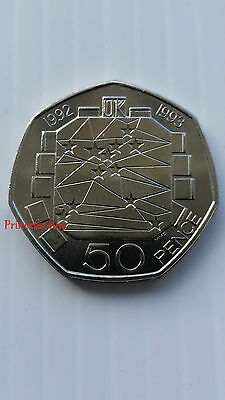 1992-1993*unc*eec European Economic Community 50P Coin