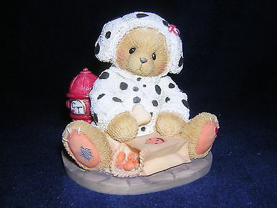 CHERISHED TEDDIES ANDY HALLOWEEN DALMATION DOG NEW and Never Displayed!!