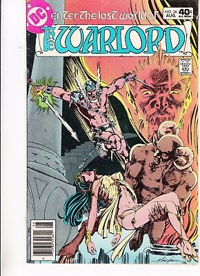 Warlord  #36 1980 Dc -Enter The Lost World Mike Grell/ Colletta...fn-