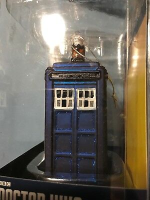 100mm DW4143 Doctor Who Kurt Adler Starry Night Paint Glass Ball Ornament