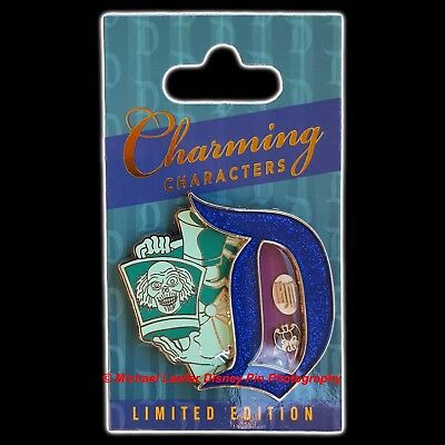 Disney Charming Characters Hat Box Ghost Pin Of The Month Haunted Mansion