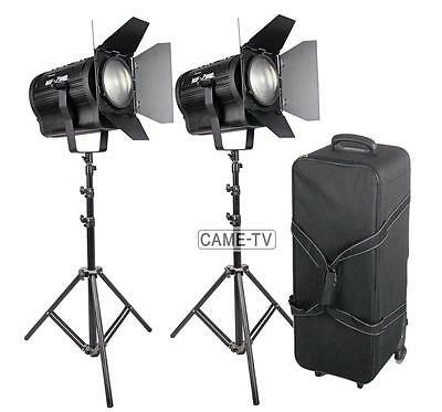 2x 200W Fresnel LED Video Light With Case